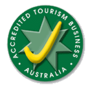 Accredited by the Australian Tourism Accreditation Program
